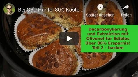 Video Vorschaubild zur Decarboxylierung Teil 2 – Backen