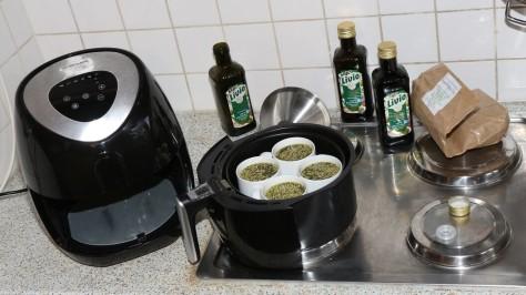 Cannabis aktivieren mit Olivenöl für Edibles
