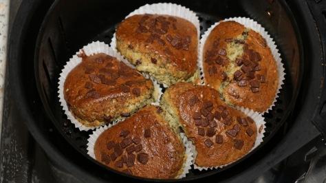 CBD Muffins nach dem backen