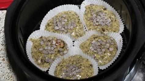 CBD Muffins vor dem backen