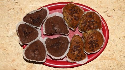 Fertige Brownies und Muffins als Edibles mit Cannabinoiden