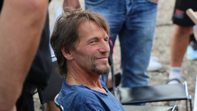 Hans Söllner im seitlichen Profil