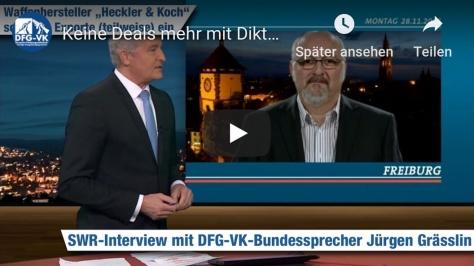 Jürgen Grässlin im Interview mit dem SWR