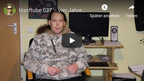 Hanftube-Betreiber nach vier Jahren Pause ohne Pause im Video