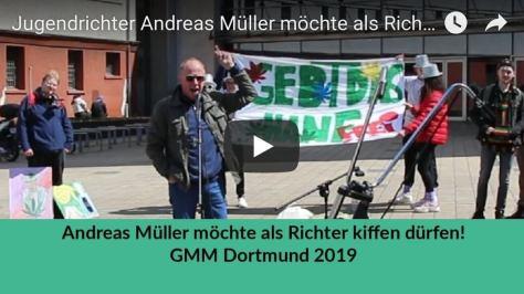 Andreas Müller möchte als Richter kiffen dürfen!