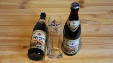 Zwei Asam Bockbier vom Weltenburger Kloster